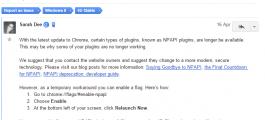 Google Chrome and Microsoft Silverlight plugin