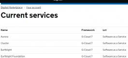 StatMap offers services via G-Cloud